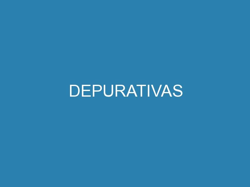Depurativas 1