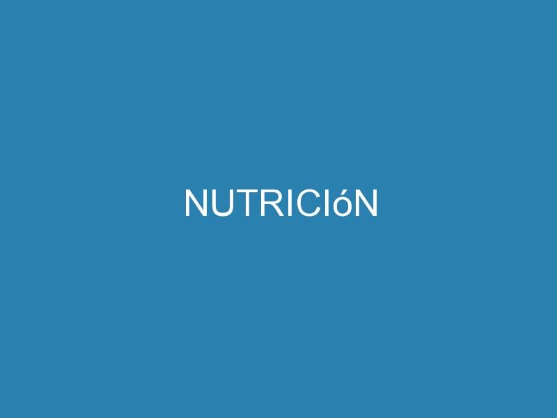 Nutrición 1